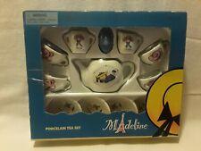 Schylling Madeline 13 Piece Porcelain Tea Set New Old Stock Sealed