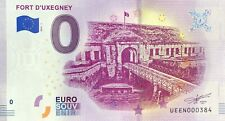 BILLET 0 ZERO EURO SOUVENIR FORT D'UXEGNEY FRANCE   2019  N° INDIFFERENT