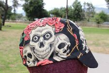 CYCLING CAP  HOW DO I LOOK  100% COTTON FABRIC  HANDMADE IN USA L M S