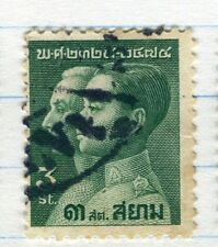 THAILAND;  1932 early Chakri Dynasty issue fine used 3s. value
