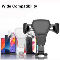 Black Car Holder Mount Air Vent Stand Cradle For Mobile Cell Phone For Any Cars