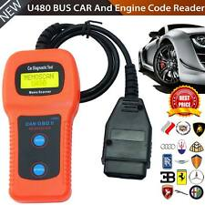 U480 CAN OBD2 Memoscan Car Engine Fault Code Read Clear Diagnostic Scanner USA