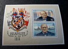 Souvenir Sheets Foreign Falkland Islands Scott# 236a Churchill 1974 Mnh C503
