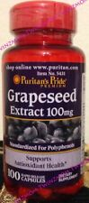 Grapeseed Extract 100mg 100 Rapid Release Capsules Antioxidant