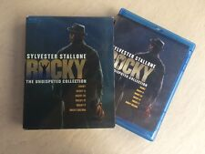 Rocky: The Undisputed Collection (Blu-ray, 2009, 7-Disc Set) Sylvester Stallone