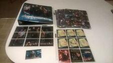 Andromeda Mini Master Set Base/Inserts/Binder/Promo/Sell Sheet/4 Autos Sorbo MT