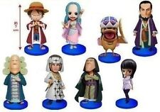 New One Piece World Collectable Figure Vol.15 Complete Set of 8 Banpresto S/H Fr