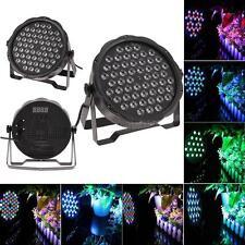 DJ PAR 54 LED Light 8CH RGBW PAR 64 DMX512 DJ Stage Party Show Wedding US