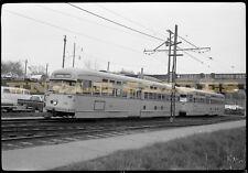 Original Trolley Medium Format Negative Shaker Heights Rapid Transit Cleveland