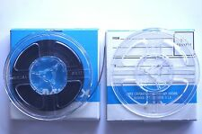 3 inch reel to reel. Ampex 2 = One full tape & One empty in good condition