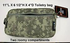 Travel Bag Personal Toiletry Organizer Shaving Kit Accessory Pouch ACU Digital