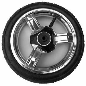 Kinderwagen Vorderrad Schwenkrad Capri ohne Gabel, Reifen 225x48 luftbereift