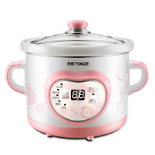 Tonze 1L Mini Electric Slow Cooker Stew  Soup Cooker stew 天际 电炖锅 粥 汤 甜品 补品