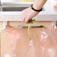 2pcs ganci da Cucina Armadietto Sacchetti della Spazzatura Sacco Della Spazzatura Staffa per sportello di armadio rack SK