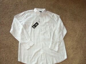 FX DESIGN long sleeve button front shirt men's XL NEW WITH $50 TAGS