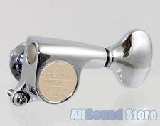 NEW - Gotoh SGS510Z-S5 Delta Mini 6 In-Line Tuners Tuning Keys 18:1 - CHROME