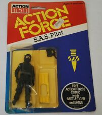 Vintage Action Force Action Man GI Joe Palitoy Carded S.A.S Pilot SAS Figure