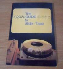 The Focal Guide to Slide-Tape Brian Duncalf vintage photography book/manual 1978