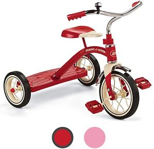 """Radio Flyer Classic Red 10"""" Tricycle for Toddlers ages 2-4 34B"""