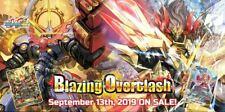 Tarjeta de futuro Buddyfight Ace TCG-ardiente overclash Booster x30 | Caja de 1