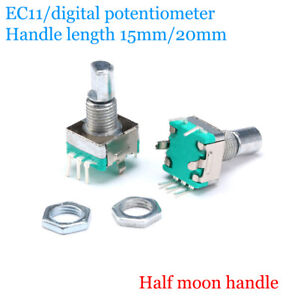 EC11 Encoder/digital potentiometer 15mm-20mm rotating plum blossom handle switch