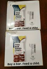 2pk THIS BAR SAVES LIVES, DARK CHOCOLATE COCONUT, 24 bars total 10/23/19