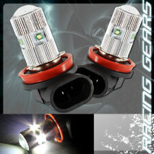 2x For Acura Chevy H11 White 5 LED 25w Projector Low Beam Fog Lights Lamp Bulbs