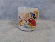 Magician Mickey Mouse Sorcerers Apprentice Dancing Brooms Disney Fantasia Mug