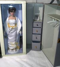 Franklin Mint The Jackie Doll Collection Trunk + 6 Designer Outfits Kennedy New