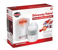 Driveway Patrol Garage Motion Sensor Alarm Infrared Wireless Alert Secure System