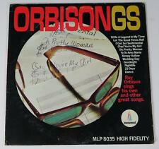 "ROY ORBISON Signed Autograph ""Orbisongs"" Album Vinyl Record LP"