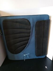 New Nike 3 Ring Binder Mead Trapper Keeper. Blue and black, with tag, unused.