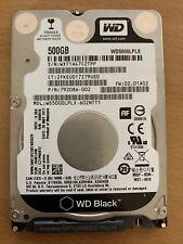 WD 2,5 Zoll 500GB HDD Festplatte SATA III 6GB/s für Laptop Crystal