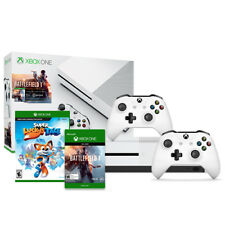 Xbox One S 500GB Battlefield 1 with Super Lucky's Tale and Extra Controller