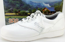 SAS Freetime White Leather Comfort Oxfords Women's US Shoe Size 10S NEW IN BOX