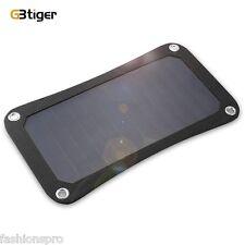 GBtiger 7W Dual USB Portable Sunpower Solar Charger Panel Power Folding Bag