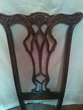 Vintage Antique Henredon Rittenhouse Square Salvaged Dining Chair Back