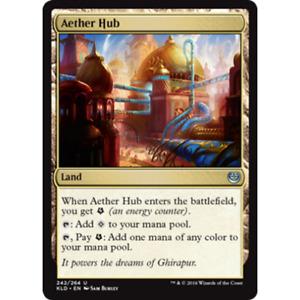 MTG Aether Hub Set Foil - Kaladesh