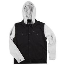 Matix Canvas Trucker Feece Jacket (S) Black