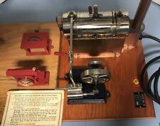Antique Toy Jensen's Steam Engine Number 5 And The Machine Shop, 5 Machines