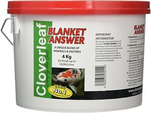 4kg Cloverleaf Blanket Answer Koi Fish Pond Blanketweed Algae Treatment