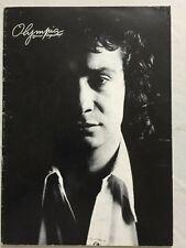 PROGRAMME OLYMPIA 1975 MICHEL SARDOU