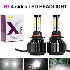 H7 LED Headlight Bulbs 20000LM 200W 6000K Cool White Conversion Kit 360 Degree