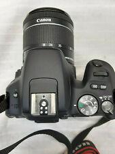 Canon EOS Rebel SL2  Black 24.2 MP DSLR w/2 Lenses 0438604