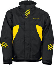 Arctiva Snow Snowmobile Pivot Insulated Jacket (Black/Yellow)