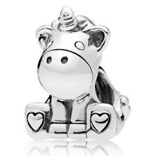 DIY Fashion European Unicorn Charm Spacer Beads Fit Necklace Bracelet hot !!