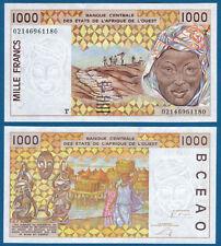 WEST AFRICAN STATES / TOGO  1000 Francs UNC  P.811T m