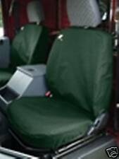 LAND ROVER DEFENDER 90/110 FRONT SEAT COVERS GREEN