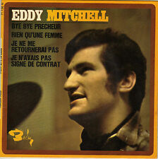 EDDY MITCHELL BYE BYE PRECHEUR FRENCH ORIG EP LONDON ALL STARS