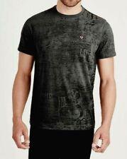 New Men True Religion All Over Buddha Printed T shirt Jeans Original